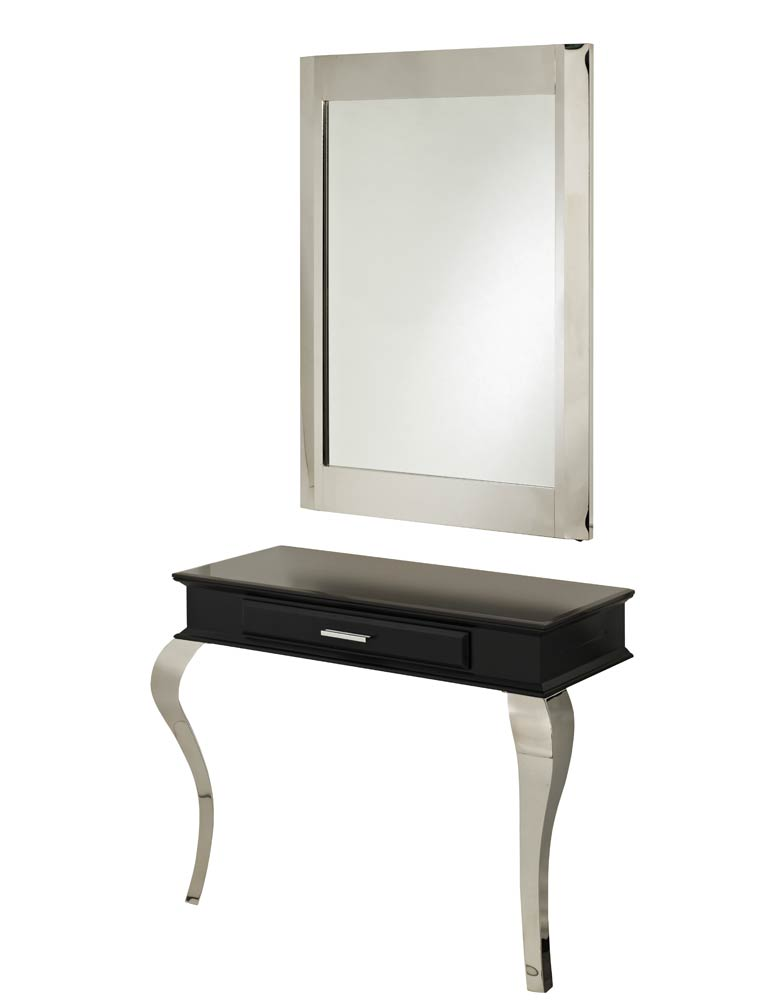 Black Royal Salon Styling Unit by SEC - Imperfect Stock