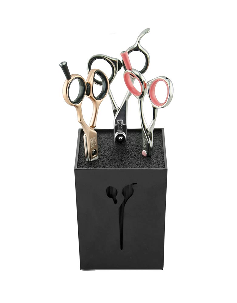 Barber Cube Scissor Holder by BEC