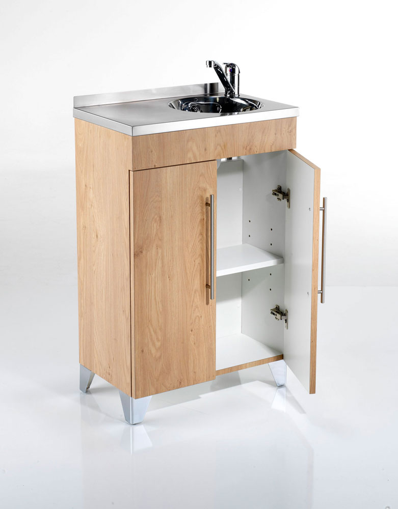 Compact Salon Vanity Unit by REM