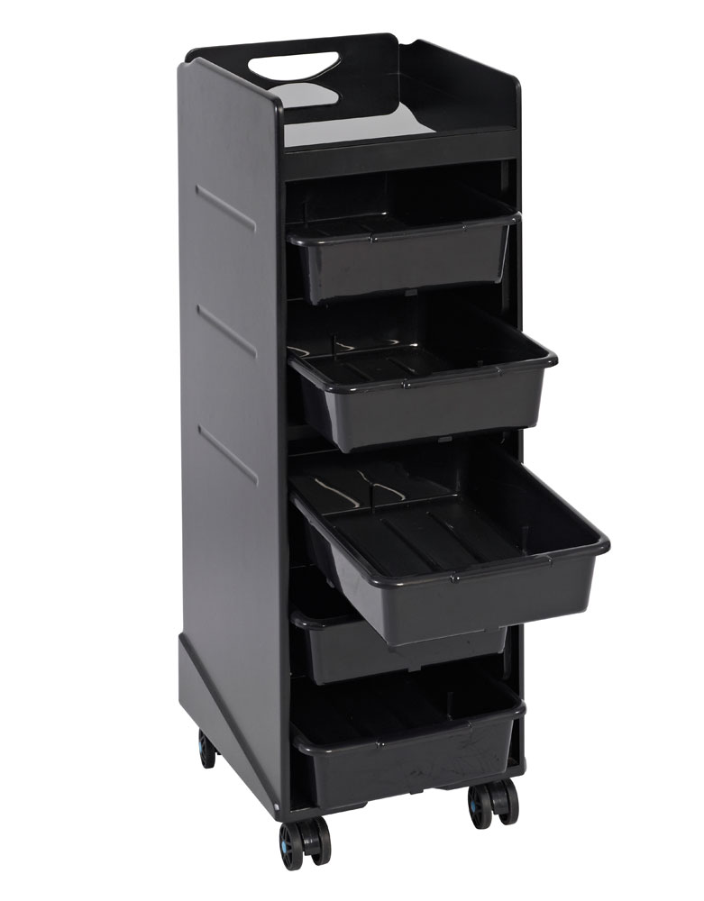 Black Samba Salon Trolley by SEC - DUE AUGUST