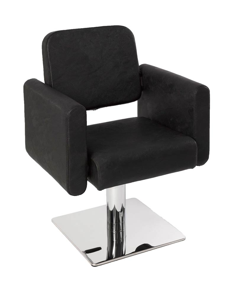 Black Milano Salon Styling Chair by SEC - Clearance
