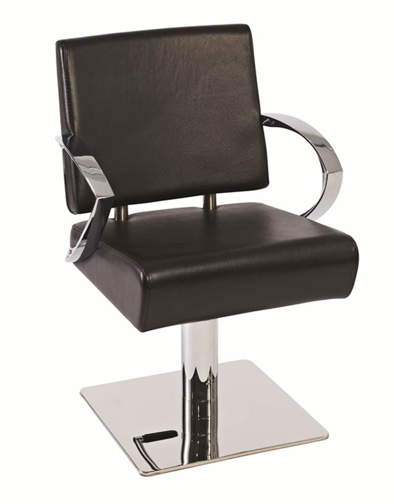Black Atlantis Salon Styling Chair by Premier