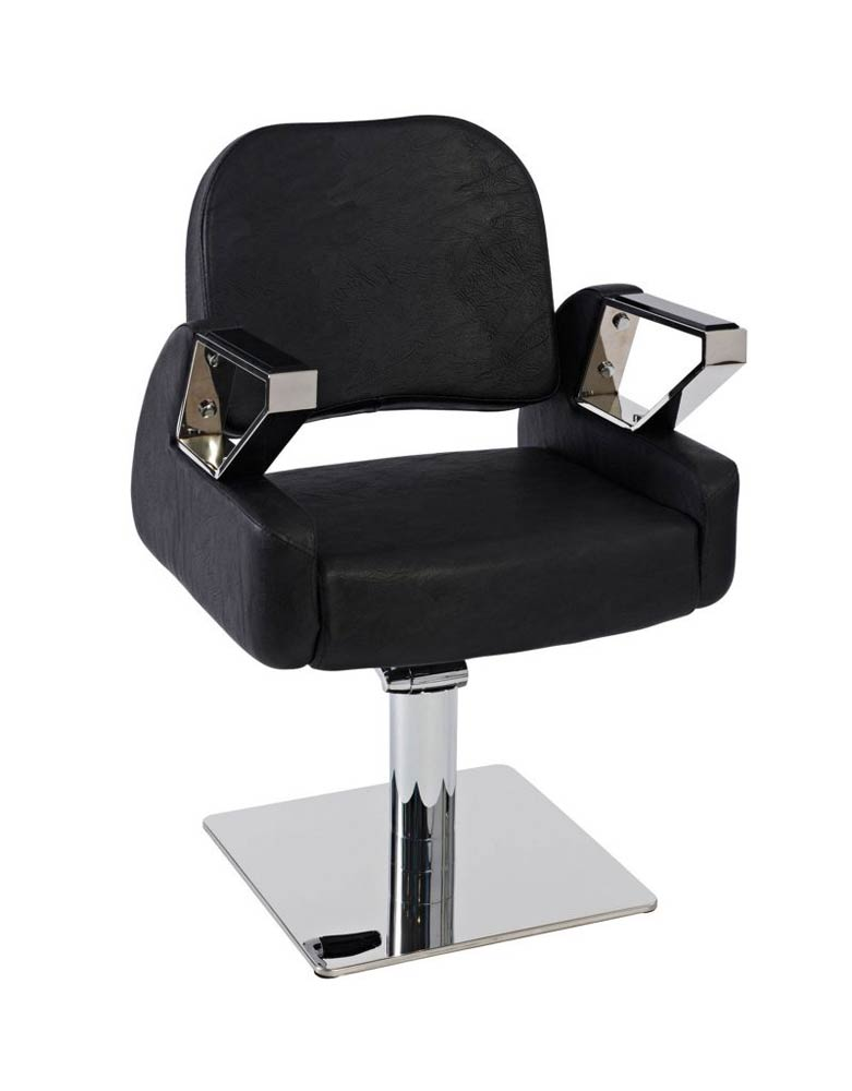 Black Aztec Salon Styling Chair by SEC- Clearance