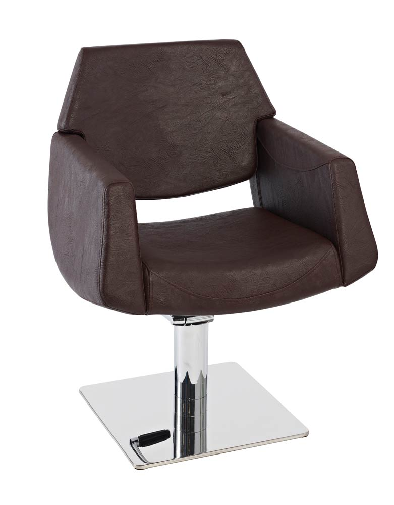 Brown Lunar Pod Salon Styling Chair by SEC - DUE END JULY