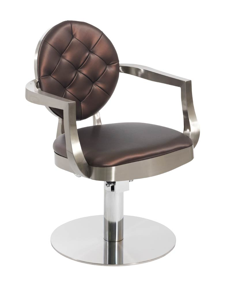 Brown Duchess Salon Styling Chair by Premier
