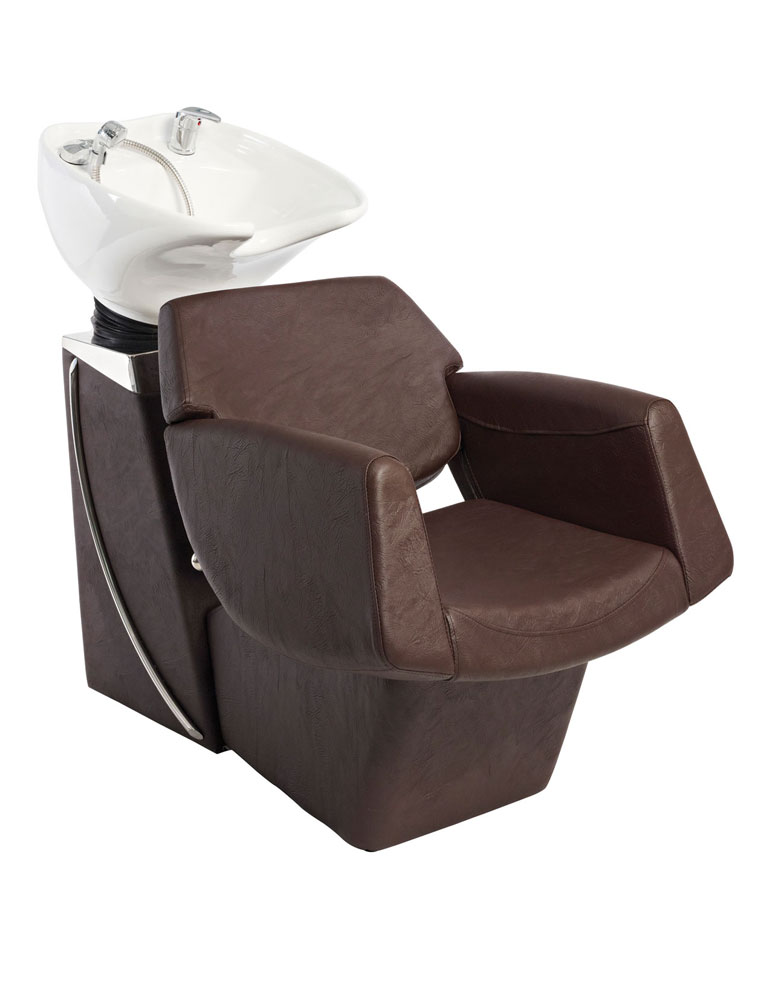 Brown Lunar Pod Salon Backwash Unit by SEC - Clearance