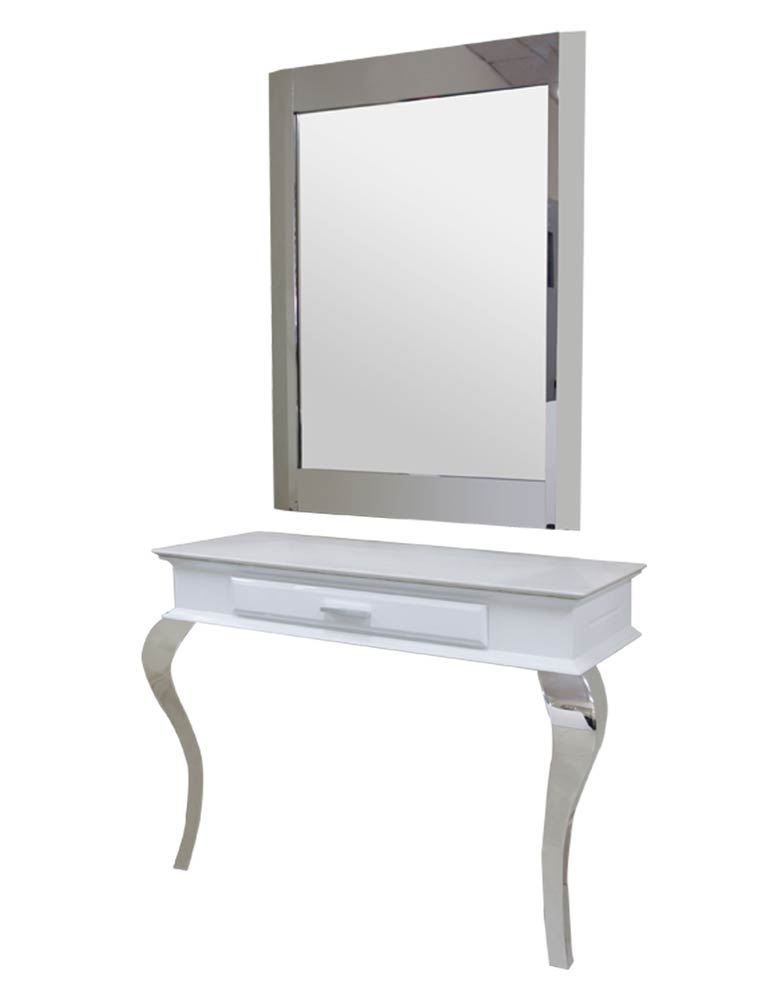 White Royal Salon Styling Unit by SEC- Clearance
