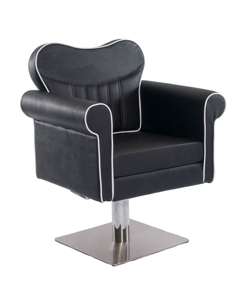 Black Classic Salon Styling Chair by Premier