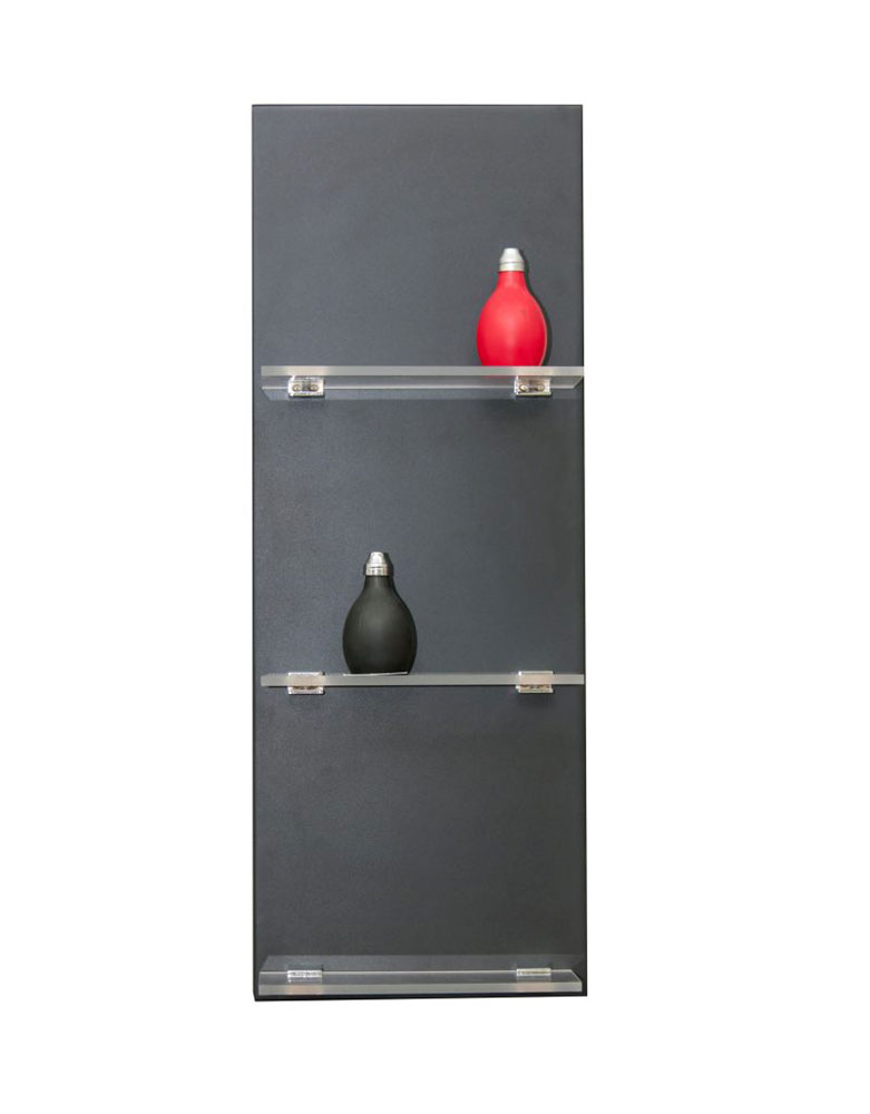 Black Kestral Salon Display Unit by Premier