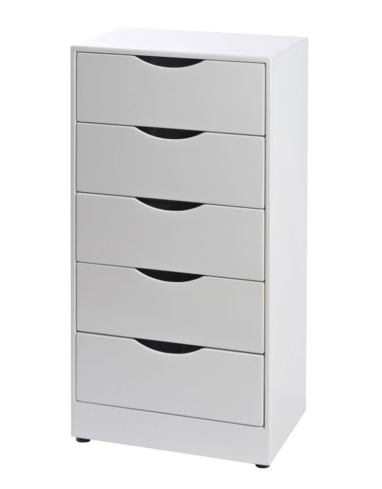 White Set of Salon Drawers by Premier Gold - Clearance