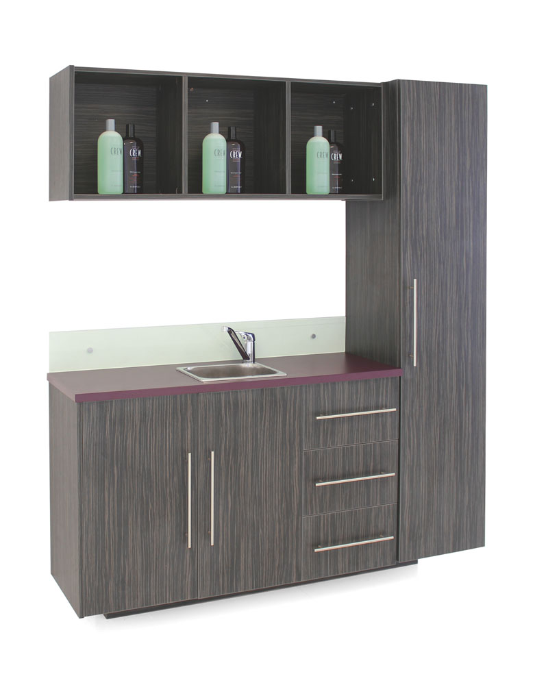 Aquarius Salon Vanity Unit With Storage by REM