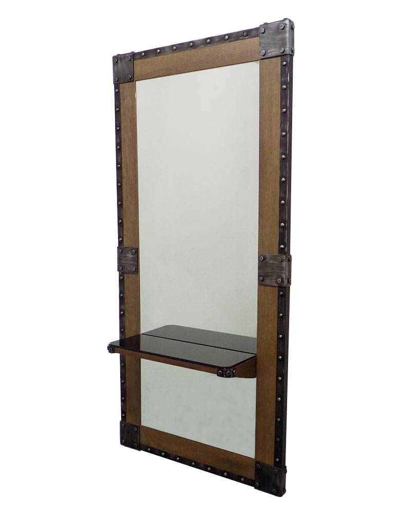 Rustic Urban Salon Styling Unit by Premier