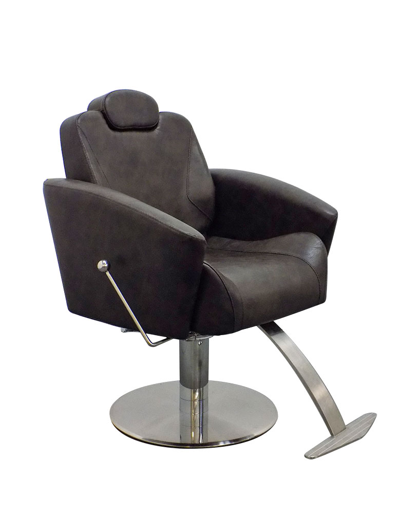 Grey Adelphi Reclining Salon Styling Chair by Premier