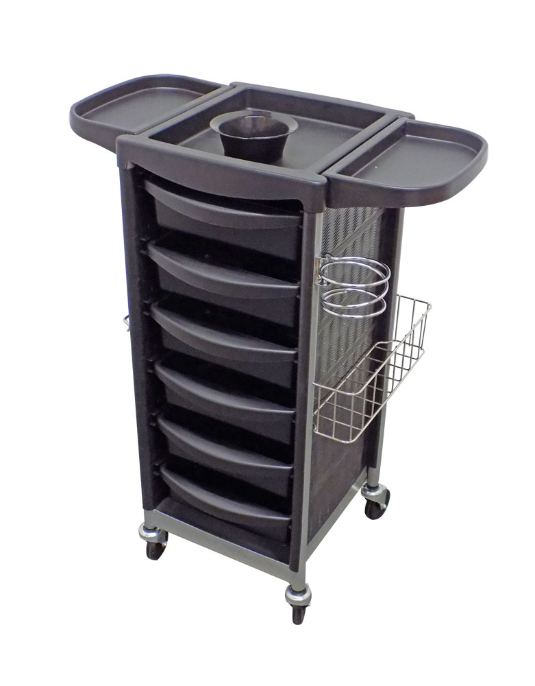 Black Onyx Salon Trolley by SEC