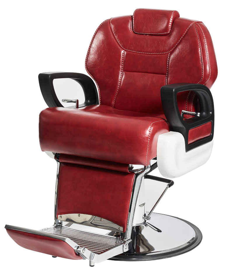 Red Shadow Barber Chair by BEC