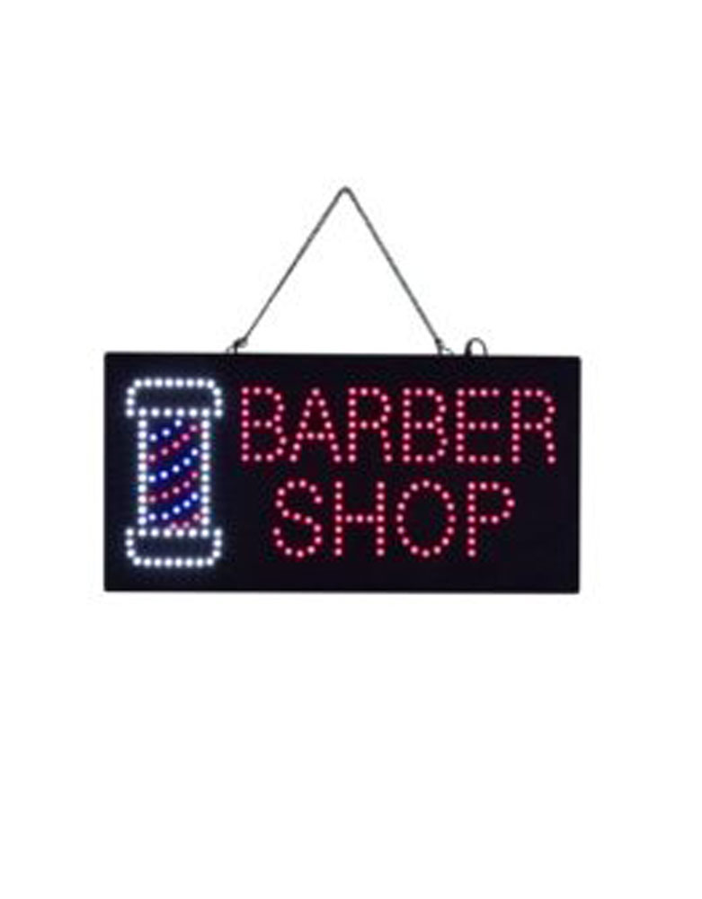 LED Barber Shop Sign by Premier - Clearance