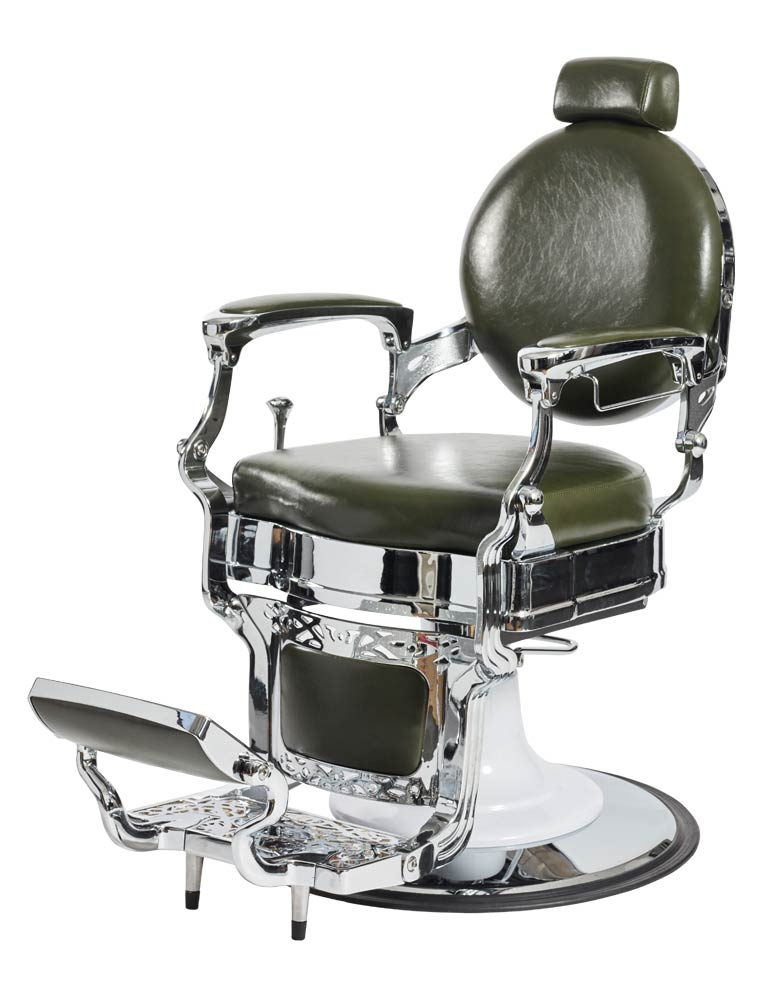 Green Capone Barber Chair by BEC