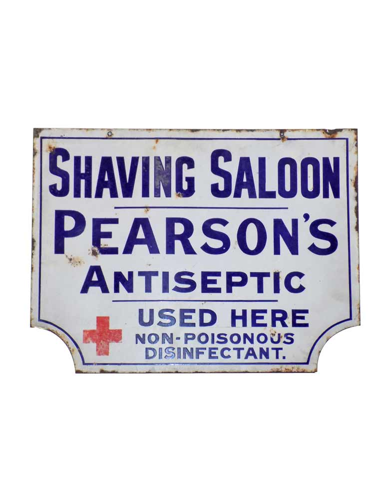 VIN150B Pearsons Double Sided Sign