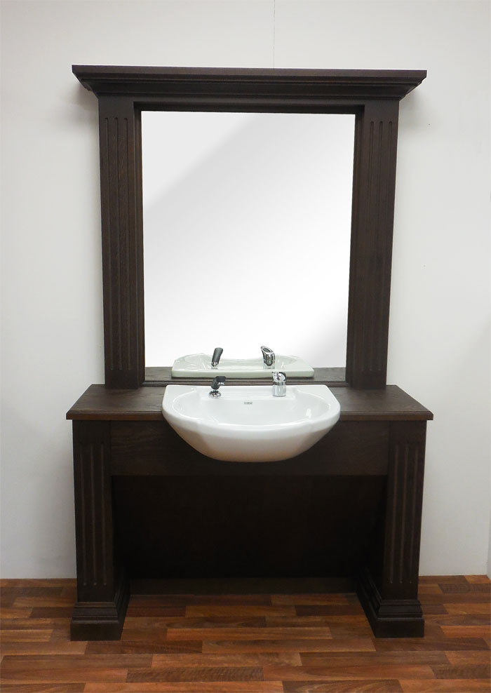 Black Bronx Barber Unit with Basin by BEC - Clearance