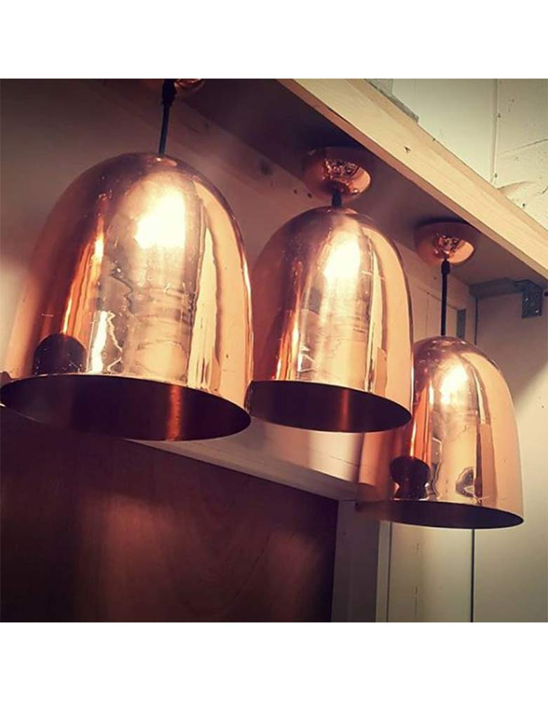 VIN186D Vintage Copper Lights