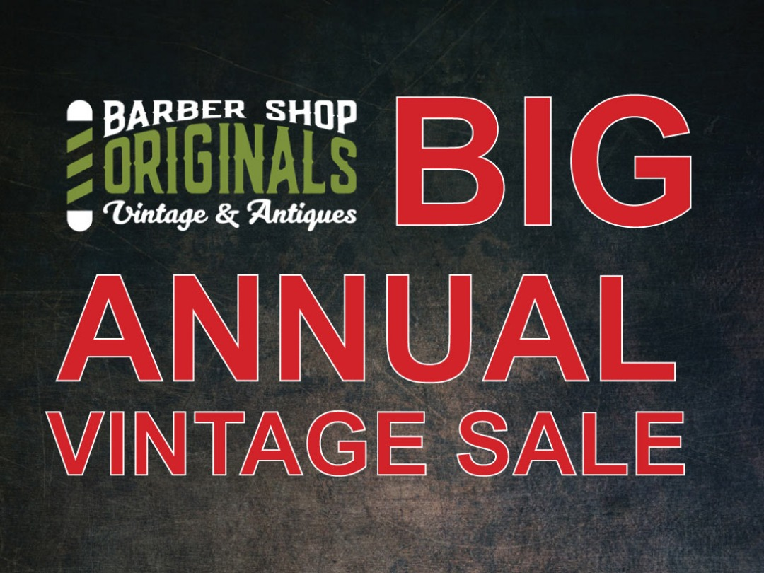 BIG ANNUAL VINTAGE SALE