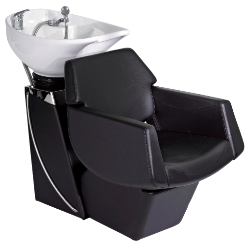 Black Lunar Pod Salon Backwash Unit by SEC