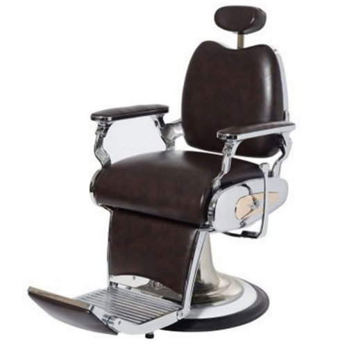 Brown Legion Barber Chair by Premier Gold