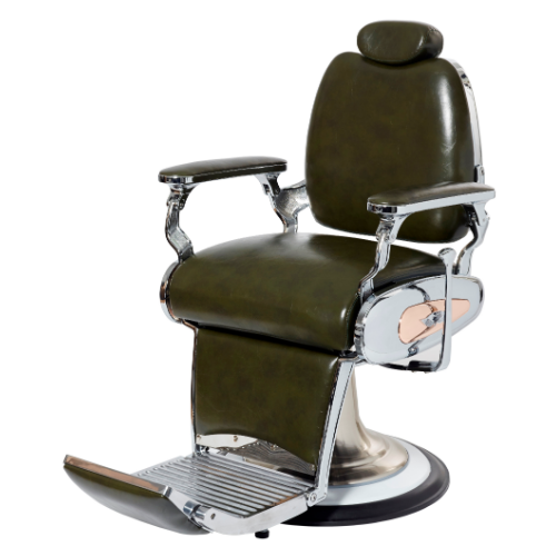 Green Legion Barber Chair by BEC
