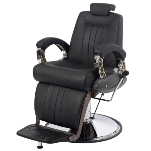 Black Imperial Barber Chair by BEC