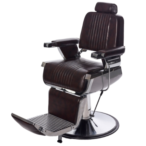 Brown Kansas Barber Chair by BEC