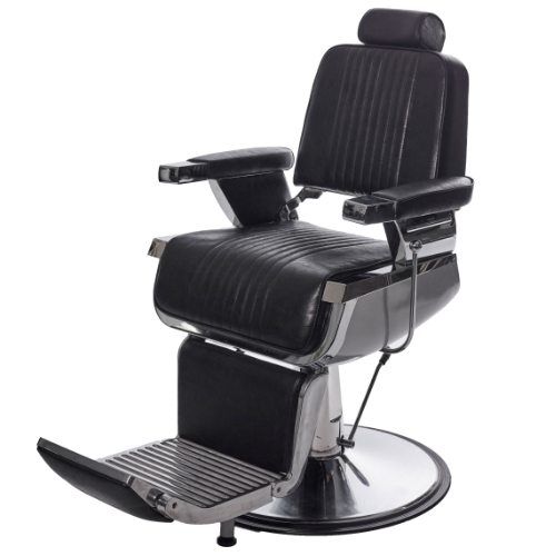 Black Kansas Barber Chair by Premier