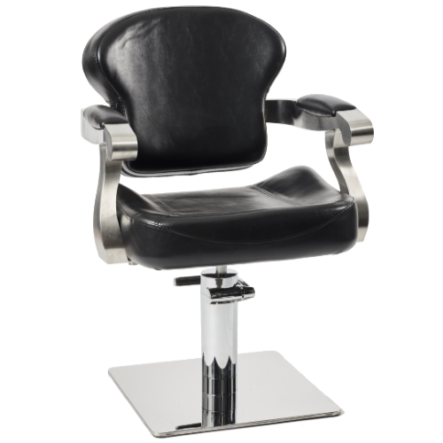 Black Michigan Salon Styling Chair by Premier