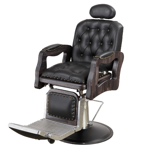 Black Western Barber Chair by BEC