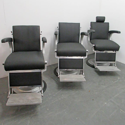 BC68A Used Takara Belmont Apollo 1 Barber Chairs