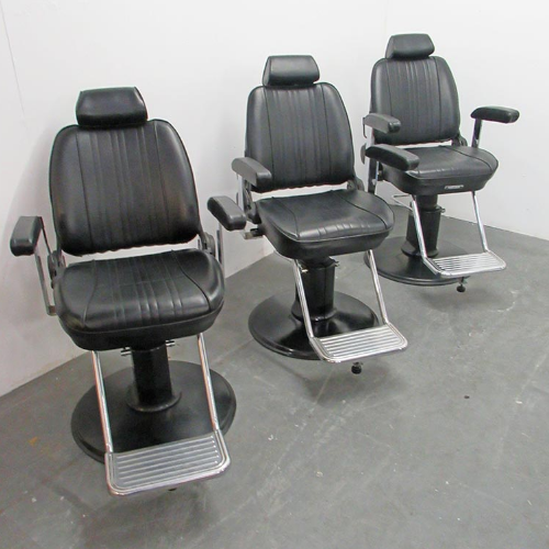 BE33A Used Takara Belmont Sportsman Barber Chairs