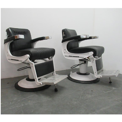 BD35A Used Takara Belmont Apollo Barber Chairs