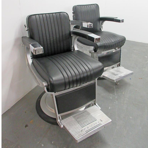 BD64A Used Takara Belmont Apollo Barber Chair