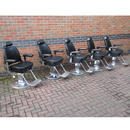 Used Sportsman Barber Chair by Takara Belmont