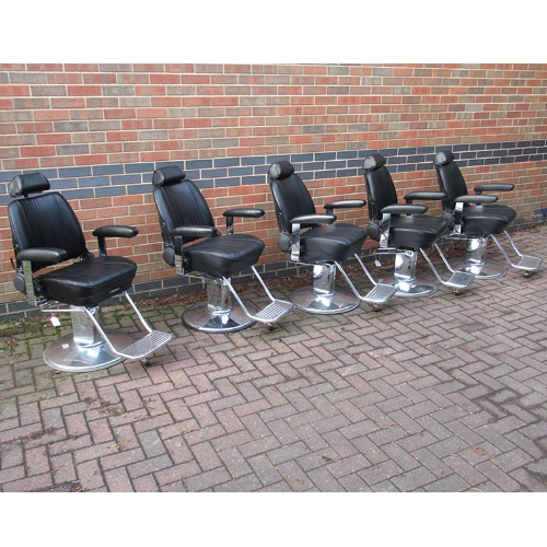 BE24A Used Takara Belmont Sportsman Barber Chairs