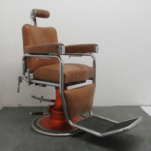 Vintage  Barber Chair by La Reine - VIN301D