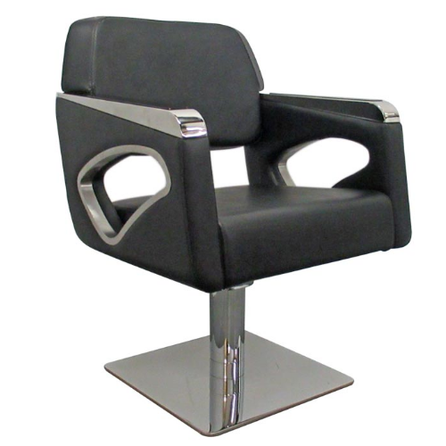 Black Passion Salon Styling Chair by SEC  - End of Line