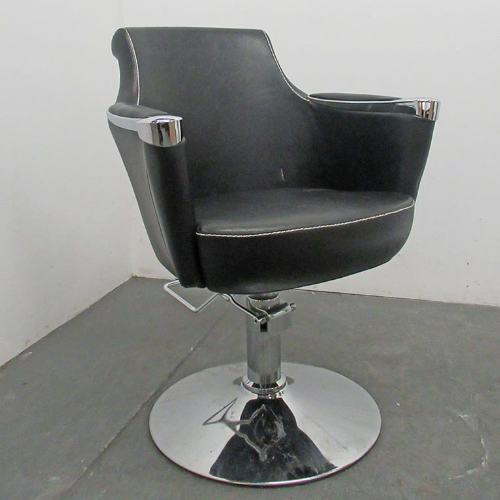 Used Salon Sandhurst Styling Chair by Premier Gold - BE74C