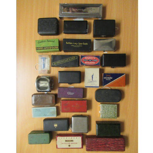 Vintage collection of Razors. Various prices
