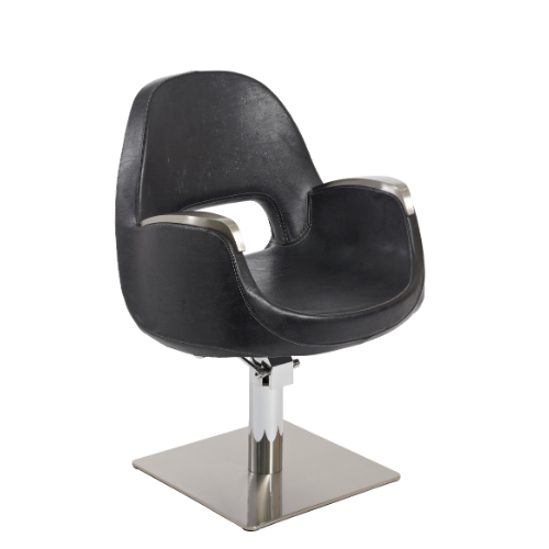 Black Solar Pod Salon Styling Chair by SEC - Clearance