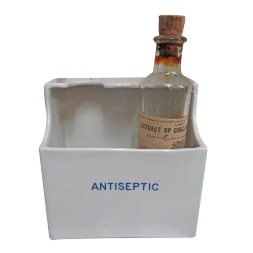 Vintage Antiseptic Container - VIN121S