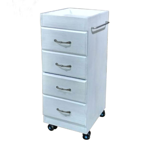 White Lux Salon Trolley by Premier - Clearance