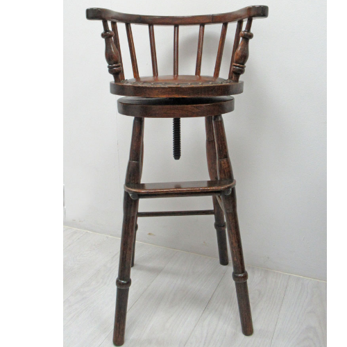Vintage 1939 Oak Child's Chair VIN316A