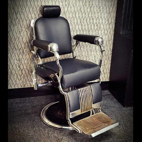 Old Barber Chairs >> Vintage Takara Belmont Legacy Barber Chair Vin209a