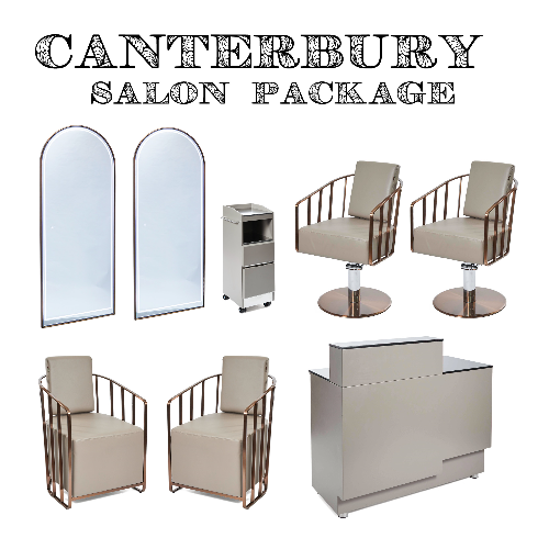 Copper Canterbury Salon Package