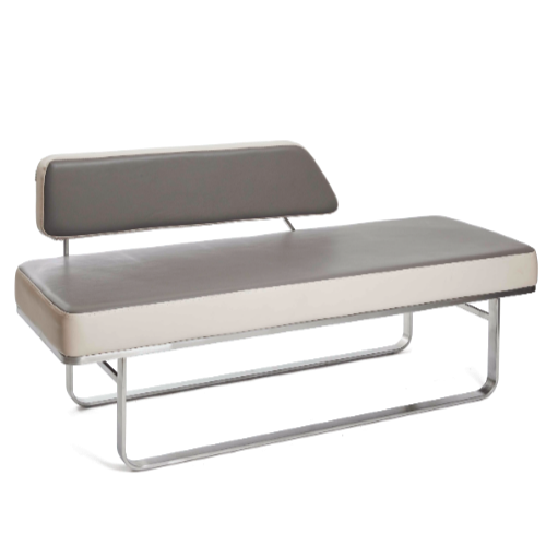Two Tone Academy Salon Waiting Seat by Premier